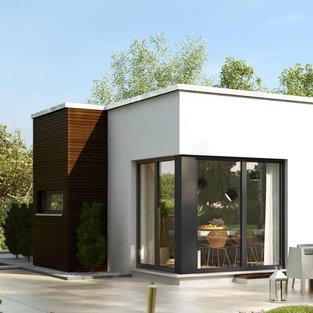 9 einfache schritte zu ihrem traumhaus for Traumhaus flachdach