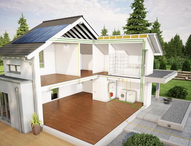 die photovoltaikanlage ihr kraftwerk auf dem dach living haus. Black Bedroom Furniture Sets. Home Design Ideas