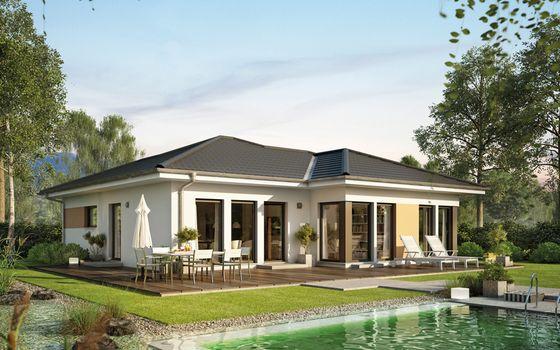 Zuhause auf einer Ebene: dein Bungalow von Living Haus