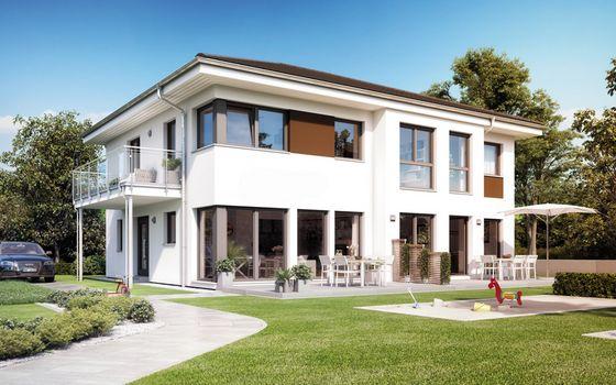 Einfamilienhaus Mit Einliegerwohnung Von Living Haus