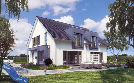 Baue Dein Fertighaus Als Zweifamilienhaus